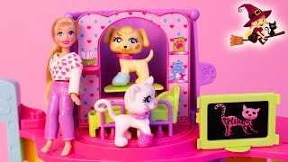 Clínica Veterinaria de Juguete de Polly Pocket
