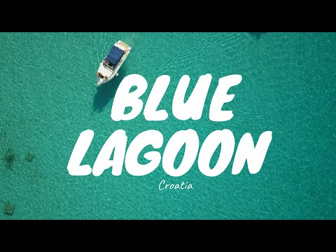 "BLUE LAGOON  AT ""OTOK DRVENIK VELI""   CROATIA 2017  4K"