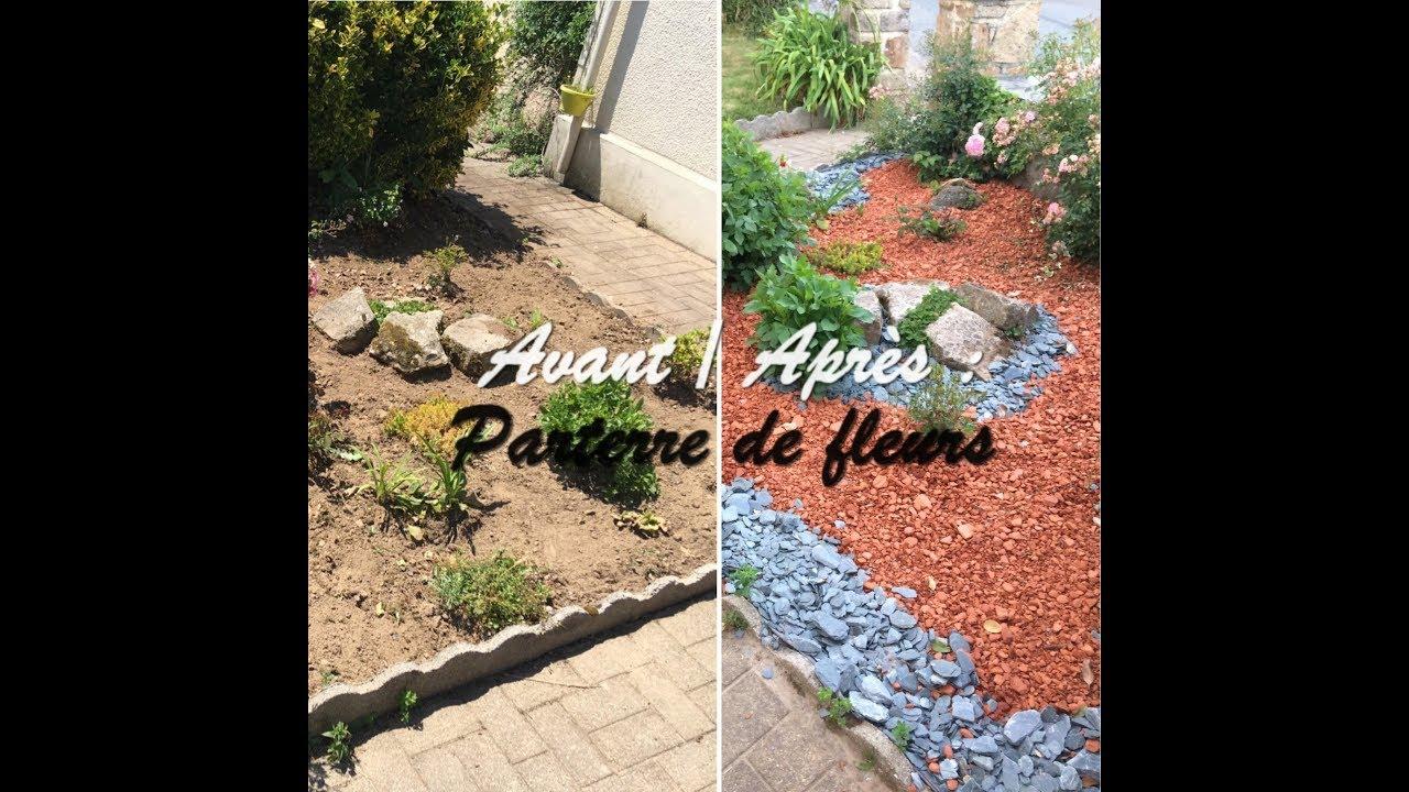 Image De Parterre De Fleurs parterre de fleurs : avant/après