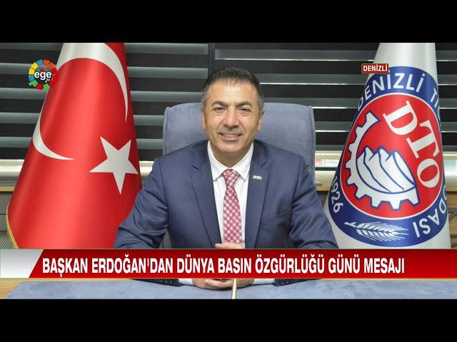 Ege TV-Başkan Erdoğan'dan Dünya Basın Özgürlüğü Günü Mesajı 04.05.2020