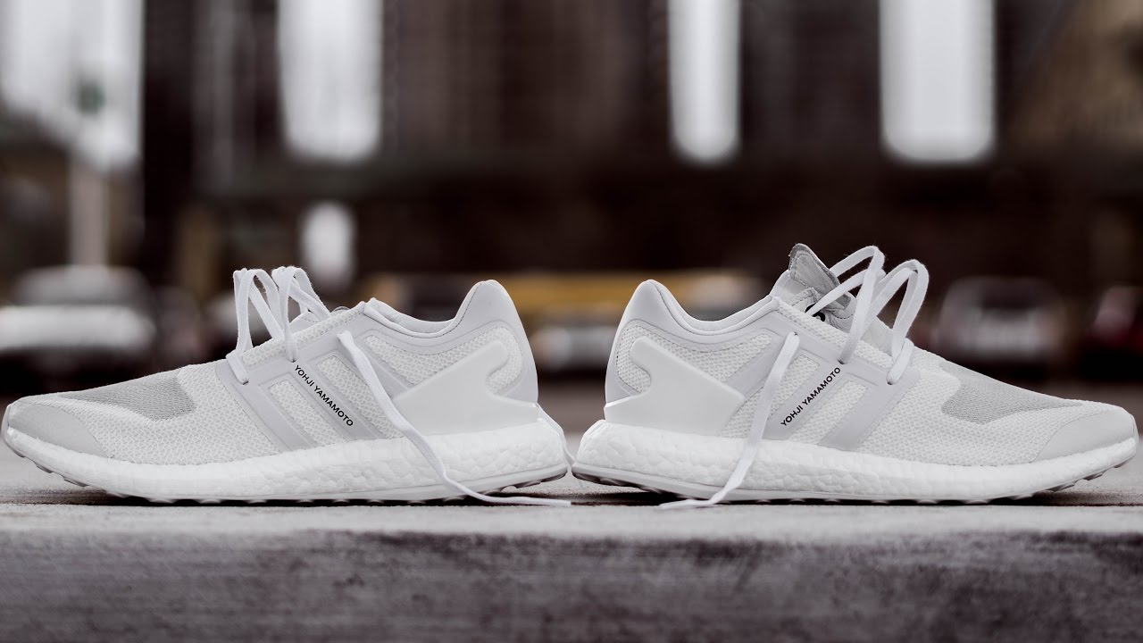 9dbd9cd922d3 EXTREMELY EXPENSIVE BOOST SNEAKER (Y3 PURE BOOST TRIPLE WHITE ON FEET  REVIEW)