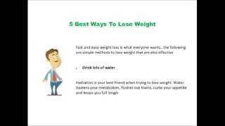 5 BEST WAYS TO LOSE WEIGHT BY WEIGHT LOSS PERSONAL TRAINER IN LOS ANGELES
