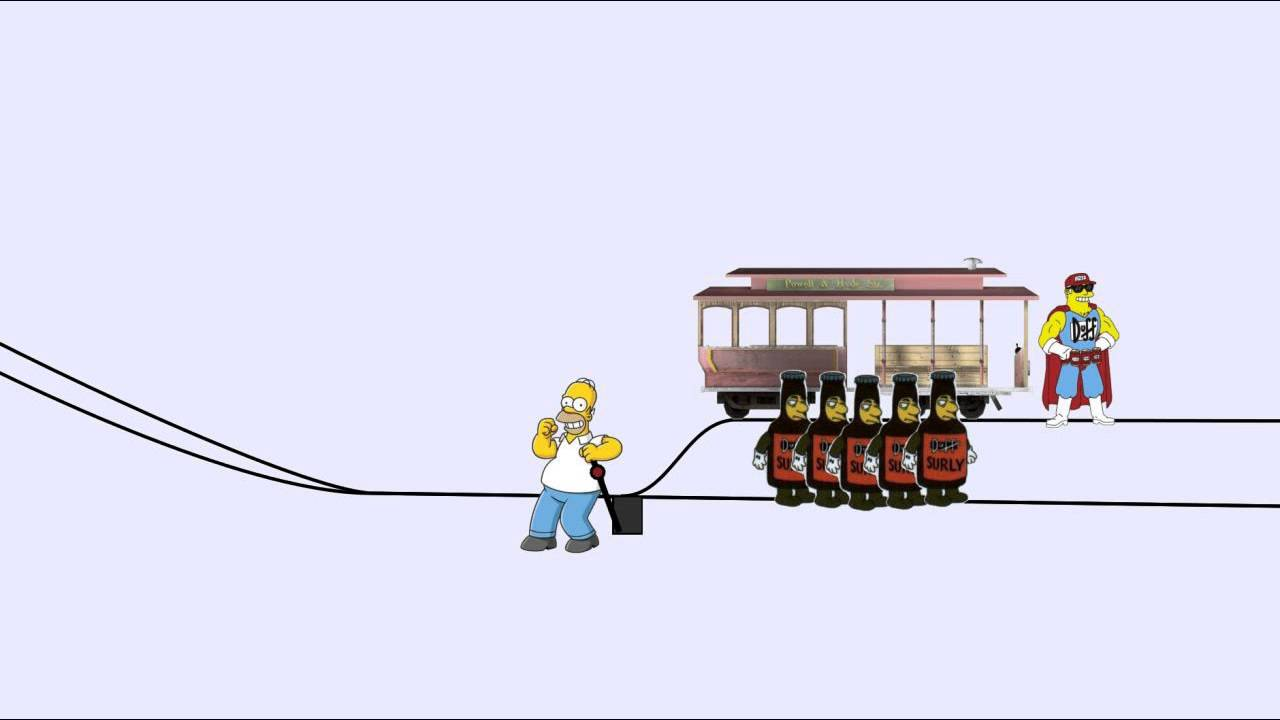 ethics and trolley driver case