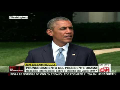 Separatistas entorpecen las investigaciones del vuelo Malaysia Airlines: Obama