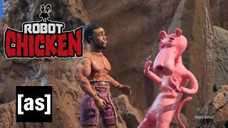Black Panther vs. Pink Panther | Robot Chicken | adult swim