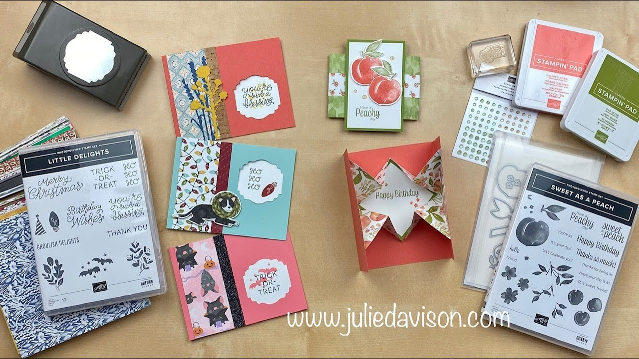 7/29/21 Thursday Night Stamp Therapy -- DSP Explosion Card + Window Cards