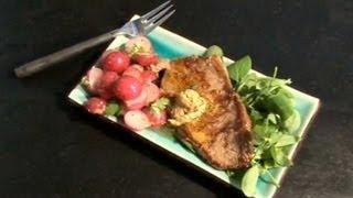 Steak With Sauteed Radish - Five Minute Food