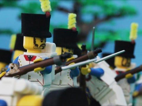 1815 Lego Battle of Waterloo at Hougoumont