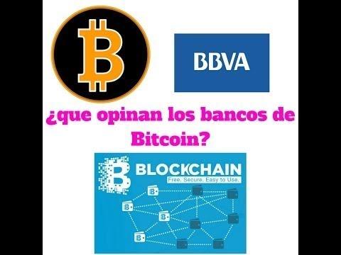 BBVA y el uso del Bitcoin