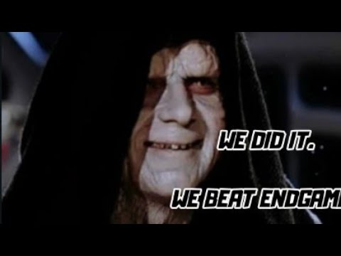Revenge Of The Sith Beats Endgame Youtube