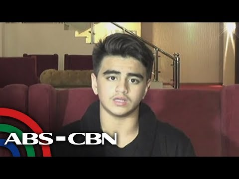Rated K: Isabel's son Hubert Thomas Aguas expresses his gratitude