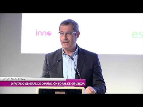 Markel Olano - Diputación de Gipuzkoa - Clausura de la Guía de la Innovación 2015