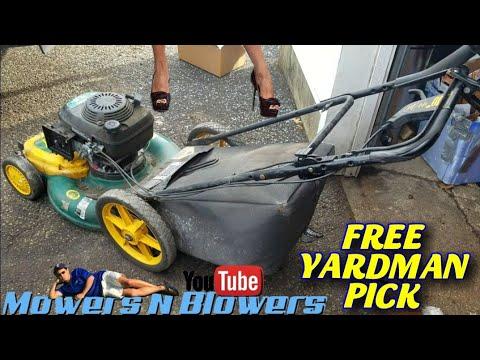 FREE MTD YARDMAN SELF PROPELLED HONDA 5.5HP LAWN MOWER CARBURETOR CLEAN CHOKE LINKAGE ADJUSTMENT FIX