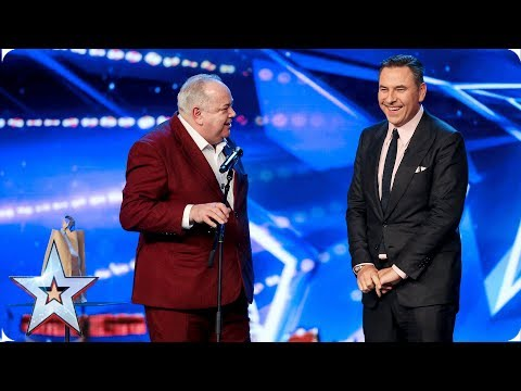 Funnyman John finally faces his fears | Auditions | BGT 2019