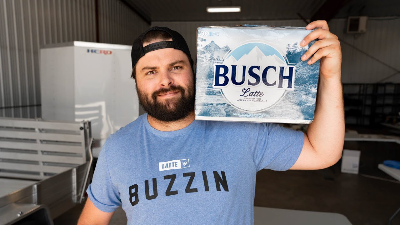 Busch Latte Cans are Back