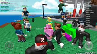 Meatball Rain !!!!!! 😶😂 Roblox: with penguins