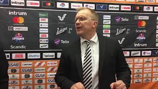 Jälkilöylyt playoffs 2019 HPK-TPS 23.3.2019 - lehdistötilaisuus