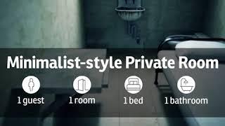 Minimalist style private room