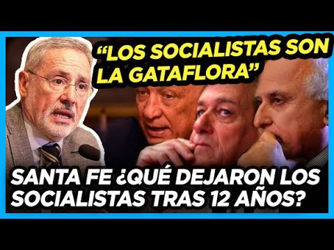 Santa Fe: EL PERONISMO DESTAPA LA OLLA QUE DEJÓ EL SOCIALISMO