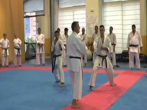bunkai kumite kata sochin miguel g mez nacarino youtube