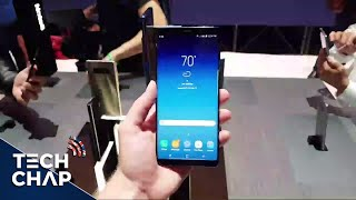 Galaxy Note 8 Hands On Impressions! [LIVE]