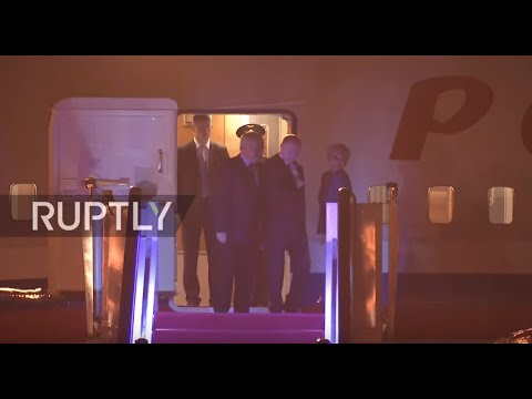 LIVE: Putin arrives in China for G20 summit