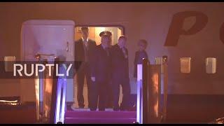 بوتين يصل الصين لحضور قمة العشرين.. فيديو