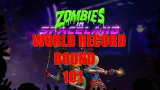WORLD RECORD SPACELAND ZOMBIE ROUND 101 (Front Patch)