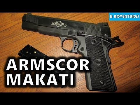 Armscor Makati: 1911 45ACP & MAP1 9mm (CZ 75), Manila Philippines S2 Ep42