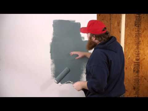 Tips to Painting Drywall to Look Smoother : Drywall Work