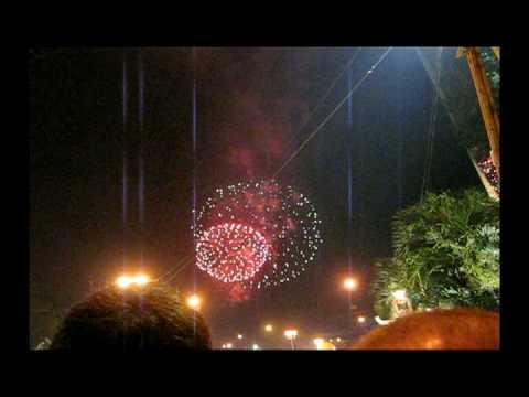 Pháo hoa đêm giao thừa Canh Dần 2010 tại Sài Gòn
