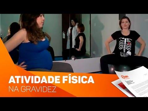 A importância da atividade física na gravidez - TV SOROCABA/SBT