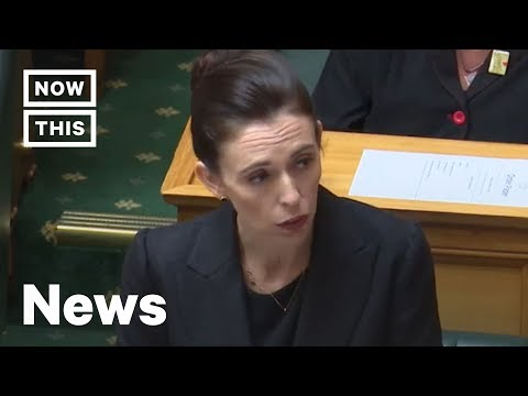 Why Jacinda Ardern Vows to Never Speak Mosque Shooter's Name | NowThis