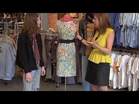 How To Wear Vintage Clothing as New Styles - YouTube