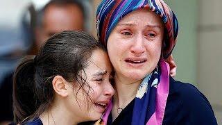 تركيا في حداد واردوغان يعد بالتغلب على الإرهاب