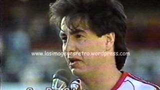 River 2 Racing 0 (Torneo 1987/88)