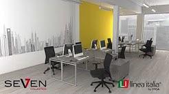 Linea Italia L Shaped Desk