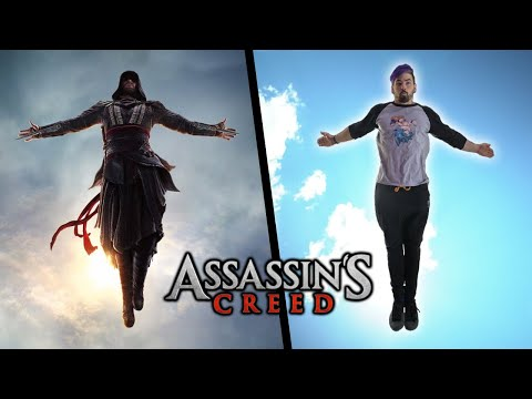 Stunts From Assassin's Creed In Real Life (Parkour & Flips)