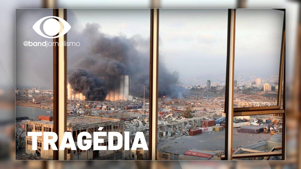 Explosão em porto deve acentuar a crise no Líbano