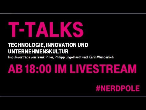 "T-Talks Vol. II - ""Technology, Culture and Innovation"" mit Frank Piller"