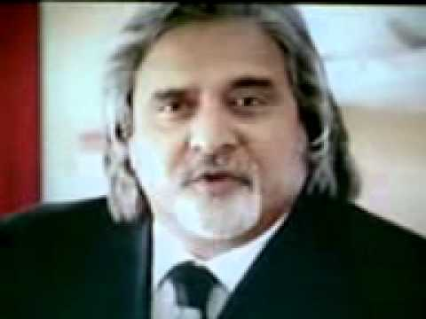 Kingfisher airlines welcome message