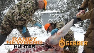 Cutting and Prepping Elk In The Field with Randy Newberg, Hunt…