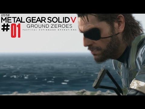 METAL GEAR SOLID 5 ★GROUND ZEROES★ #01 [HD60/Ger] - 2 Ziele
