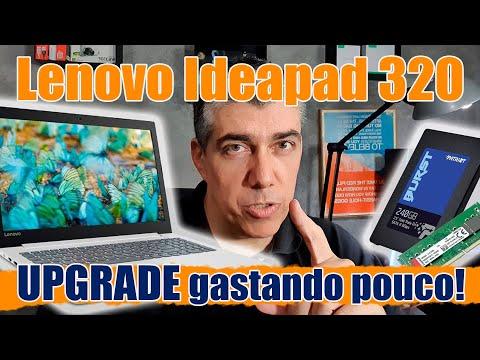 Lenovo Ideapad 320 - Upgrade - Adicionando RAM e SSD - Tutorial