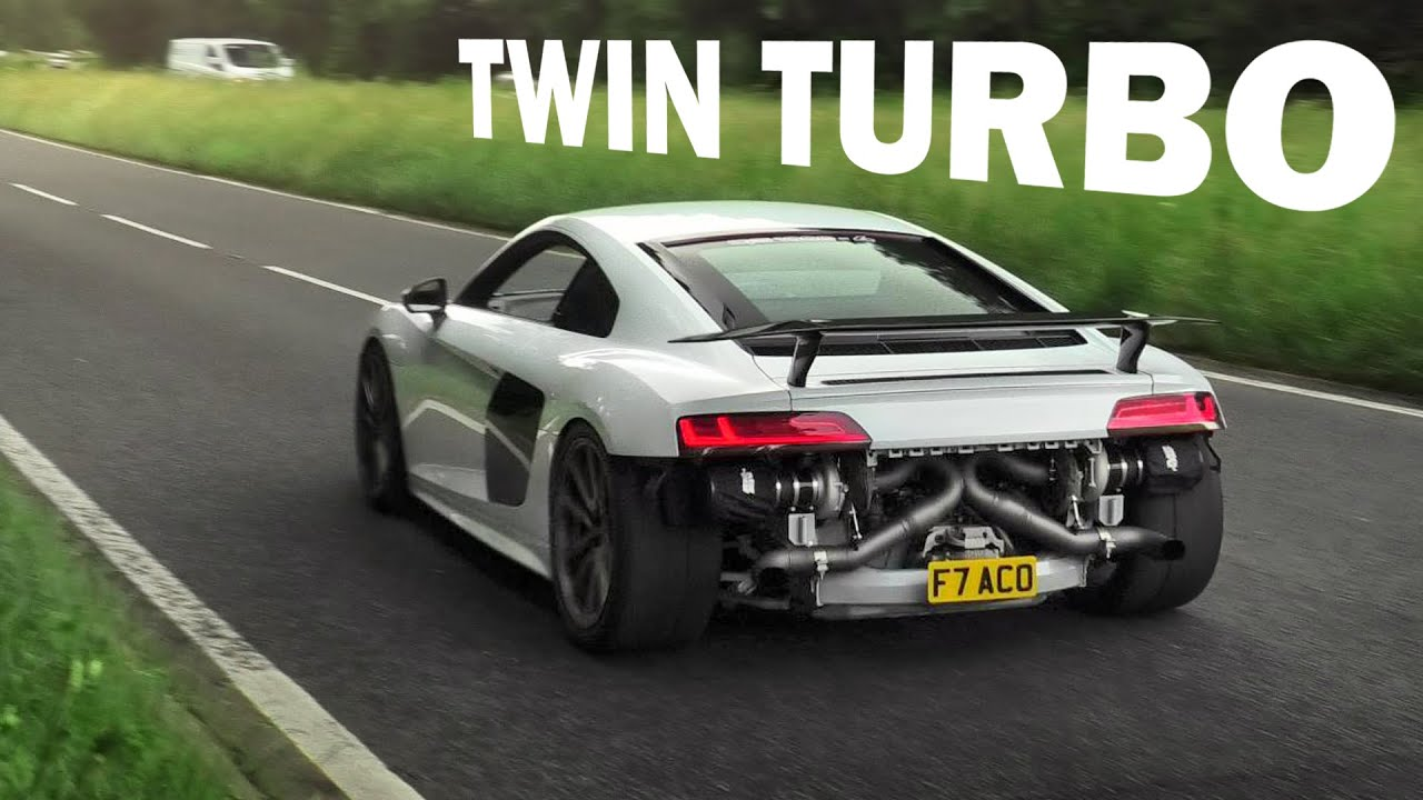 The World's BEST Supercars Leaving a SLIPPERY Car Meet!
