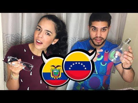 Como se dice en ECUADOR y VENEZUELA   Por no saber una palabra casi se desmaya