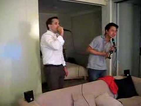 IRM Steamboat and karaoke: Never gonna give you up