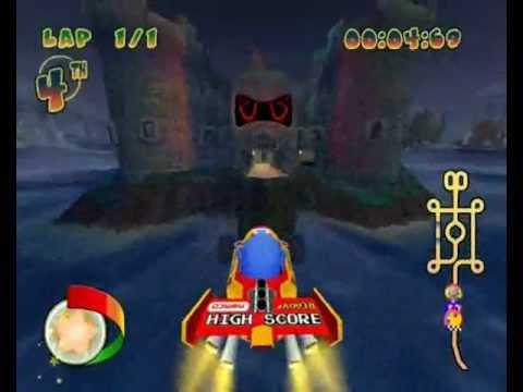 Pac-Man World Rally {PC Version} Playthrough-Part 12-Rally Cup{Hard Mode}/Unlocking 'Fygar'.wmv