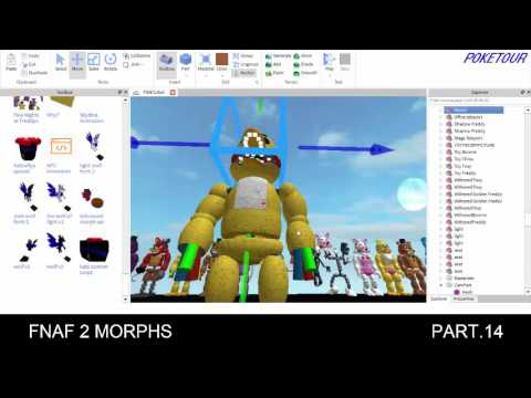 Building the FNAF 2 MAP on Roblox PT.14 - YouTube