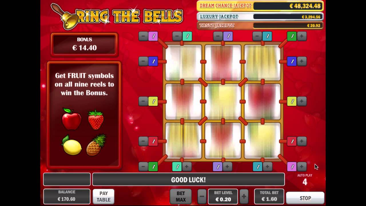 Swinging Bells Jack Vegas Slot Online Youtube